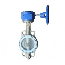 Wafer Butterfly Valve (gear operated)