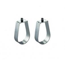 Chrome Papaya Bracket / Swivel Ring Hanger
